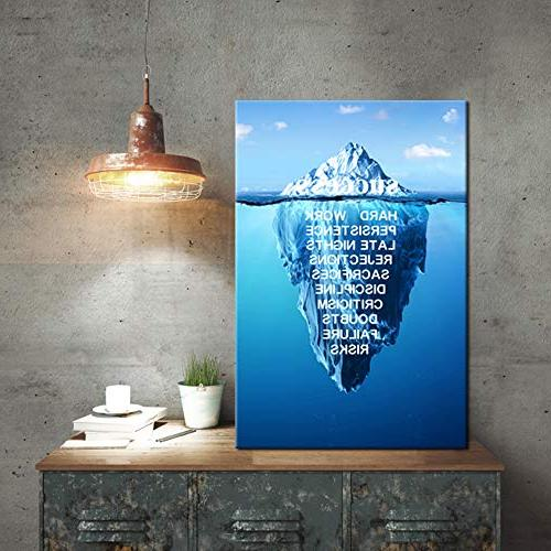Kreative Arts Quotes Wall Inspiration Motivation Stretched Wraps Giclee Print Ready Hang for Office