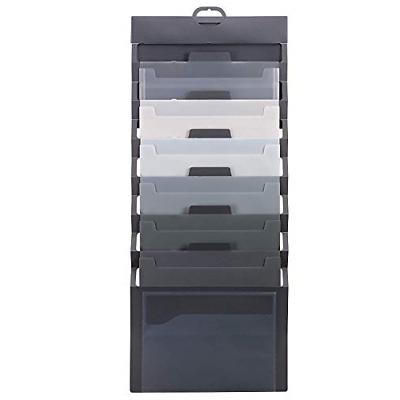 cascading wall organizer 6 pockets letter size