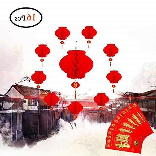 Ess Chinese Red Paper Tet Home 16