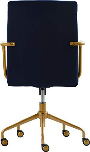 Brilliant Elle Decor Chr10058C Giselle Home Office Chair Navy Ibusinesslaw Wood Chair Design Ideas Ibusinesslaworg