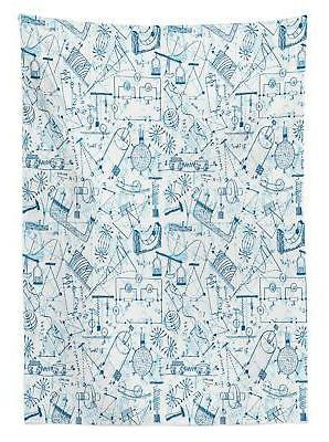 Colorful Doodle 3 Sizes Rectangular Table Cover Decor