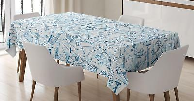colorful doodle tablecloth 3 sizes rectangular table