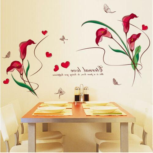 Colorful Stickers Vintage Home Vinyl Art Decal