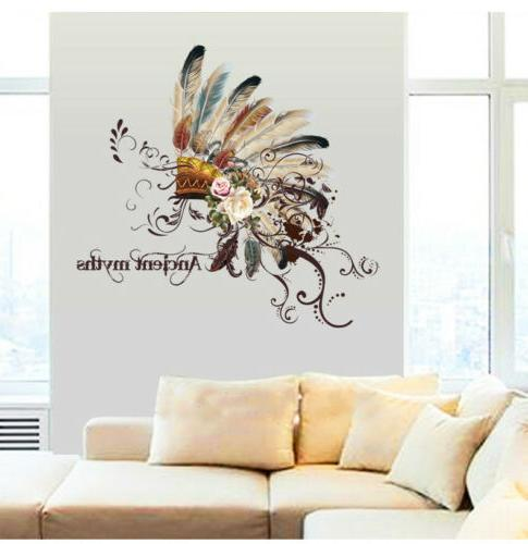Colorful Wall Home Decor Removable Vinyl Art Decal