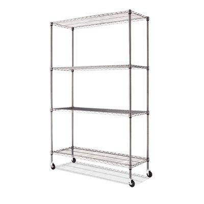 complete wire shelving unit w