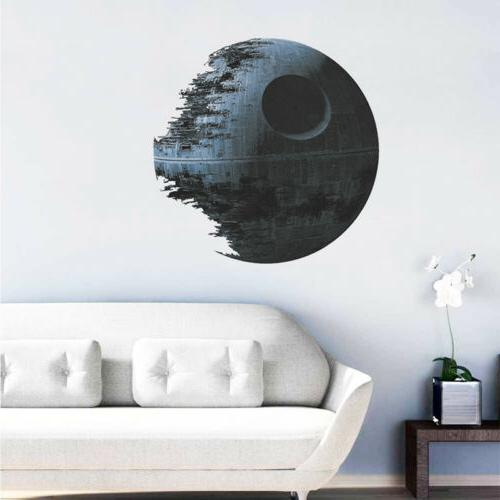 death star wars removable wall stickers art