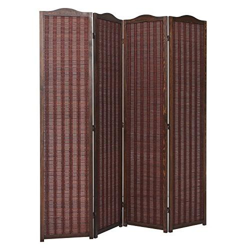 deluxe brown woven bamboo 4