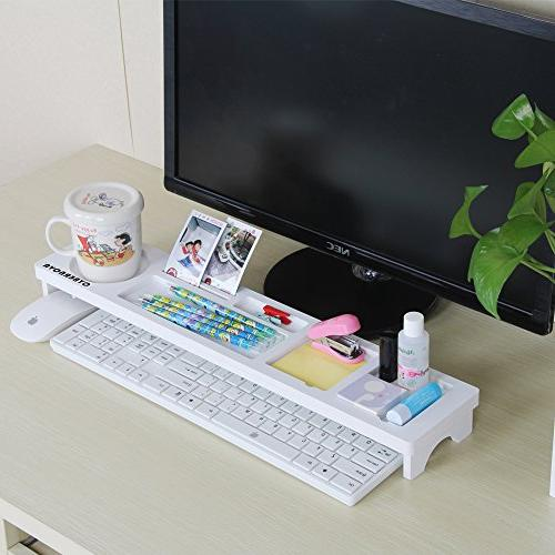CYBERNOVA Desk Organiser Small Objects Storage Keyboard Commodity