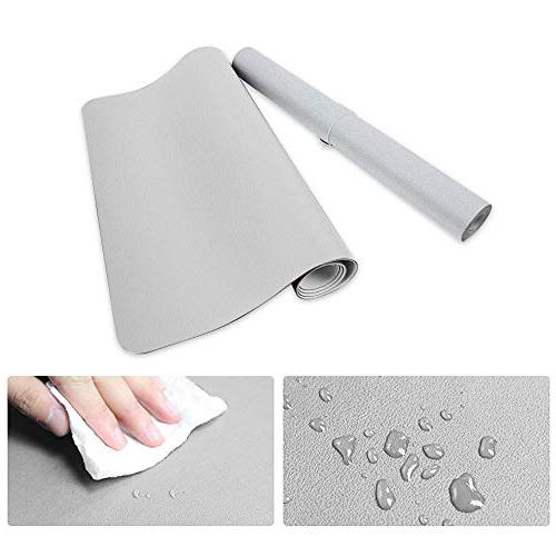 """HOMECAS Desk Pad PU Leather for 31.5"""" x 0.08"""" Thin Desk Mat Protector"""