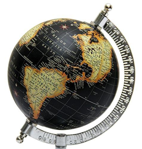 MasterpieceIndia 5 Inches World Earth Desktop Decor Home Tabletop