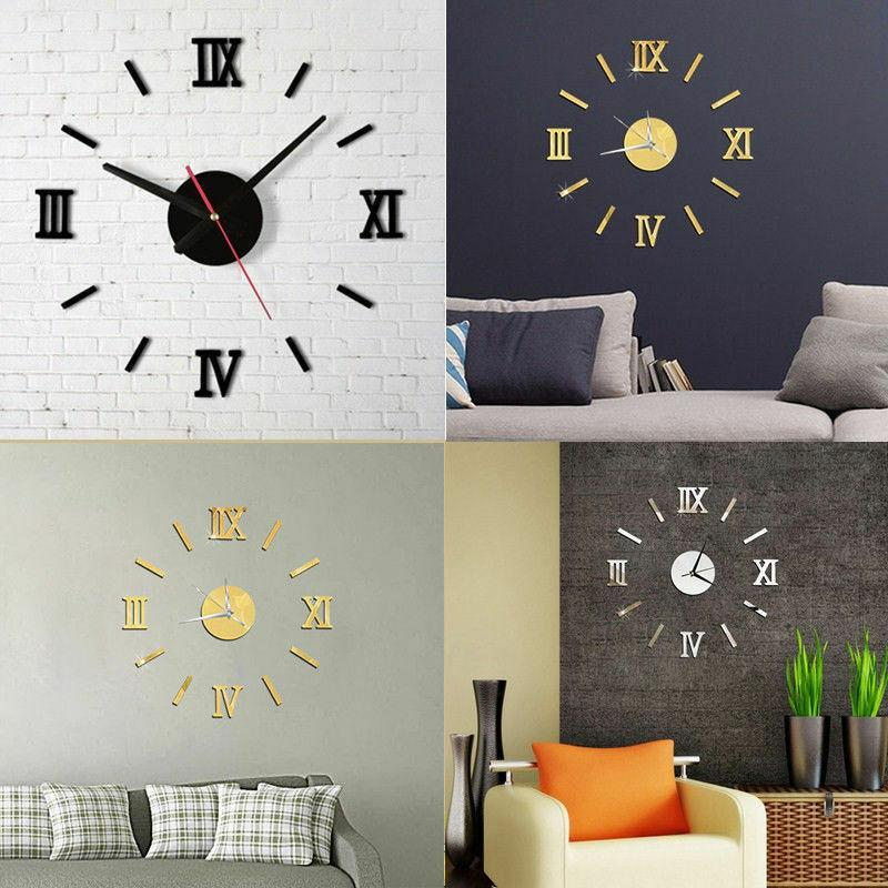 DIY Clock Decals Home Decor