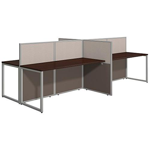 easy office 4 person straight