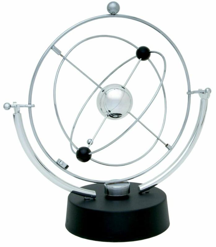 Electronic Perpetual Motion Toy Orbital Desk Art Outer Space