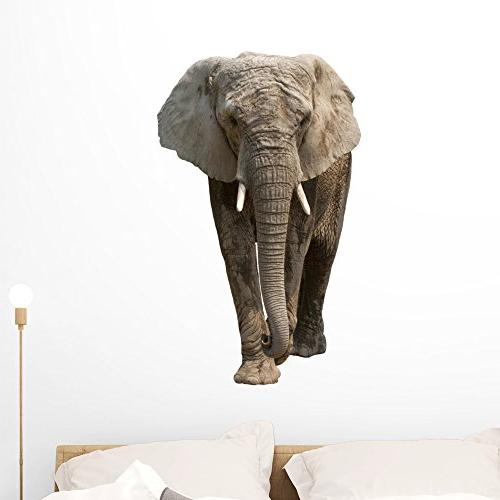 elephant wall decal peel stick