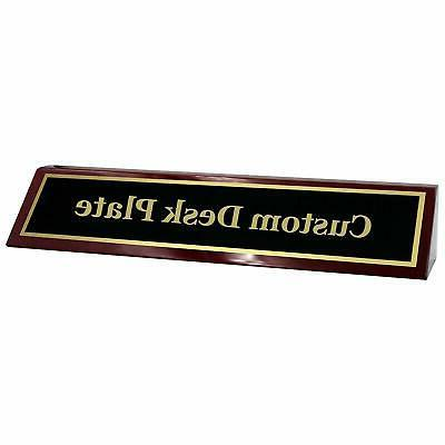 engraved desk name plate office name plate