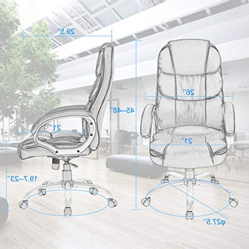 BestOffice Ergonomic Executive Task High Chair Support in
