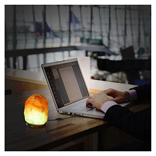 ESOW USB Lamp Mini with Wooden Multi Air Inches lbs No Installation Required For Office Yoga, Relieves Relaxing