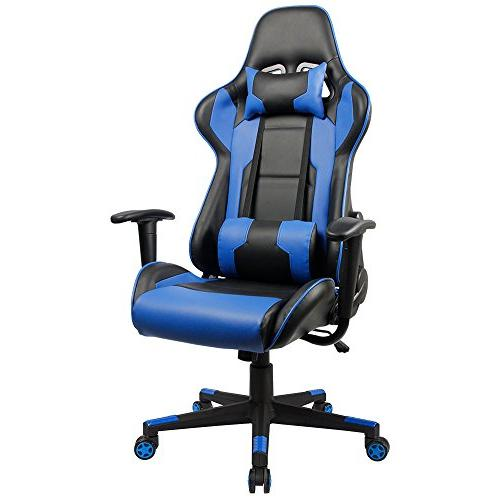 executive swivel leather gaming chair