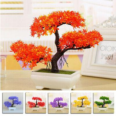Fake Green Plant Bonsai Simulation Tree Home/Office