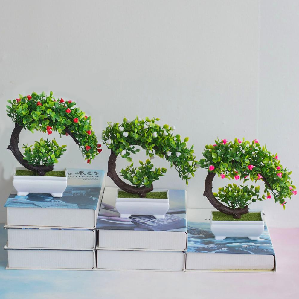 Fake Artificial Potted Plant Home Tree Plants Garden