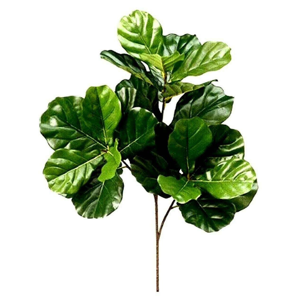 fiddle leaf fig tree artificial plant decor