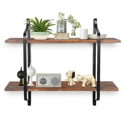 Floating Display Rack Unit Modern Home Office