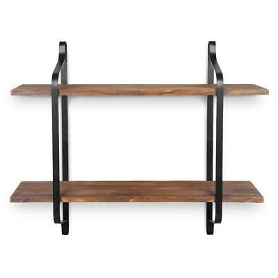 Floating Display Rack Unit Modern Home Decor