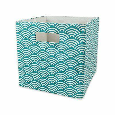 DII Foldable Fabric Storage Container for Nurseries, Offices