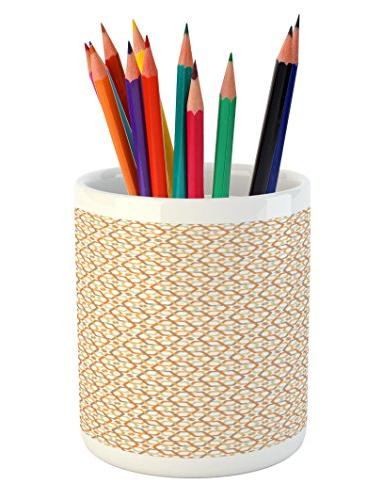 geometric pencil pen holder
