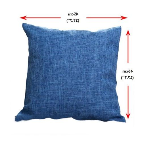 "Home Cushion Cover 18""x"