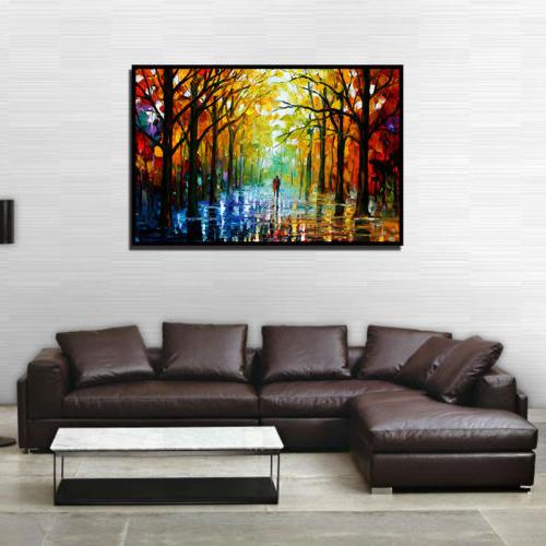 Home Tree Canvas Art Wall Gift Frame US