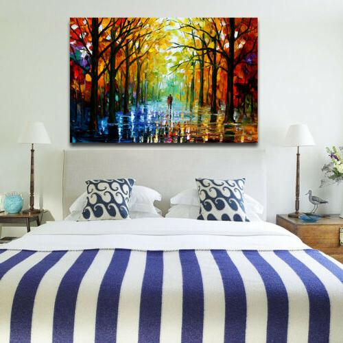 Home Office Tree Canvas Mural Art Painting Wall Decor Gift Frame US