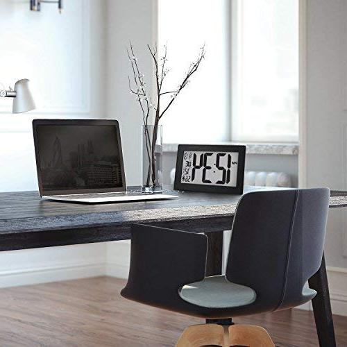 Marathon CL030068BK-BS Slim Panoramic Atomic with Table Stand