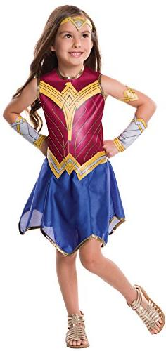 Rubie's Justice League Child's Wonder Woman Costume, Medium