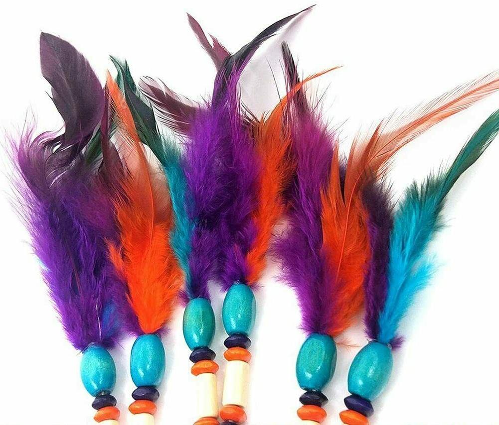 Large Feathers Wall Home Decor 5 Rings