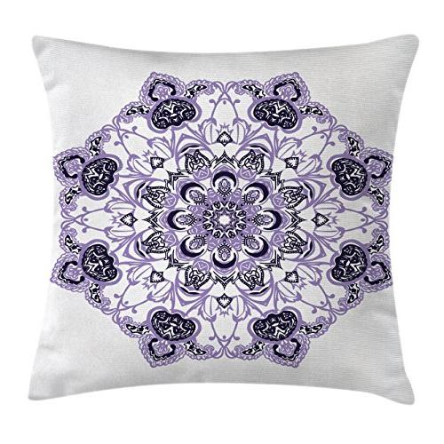 mandala decor throw pillow cushion
