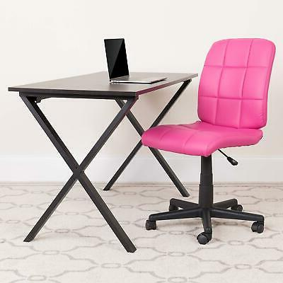 Flash Furniture Quilted Vinyl Swivel Office with
