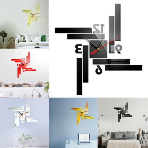Modern DIY 3D Surface Sticker Removable Home Office US