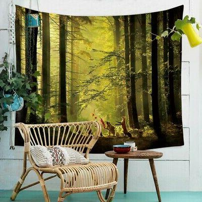 Nature Hanging Scenery 3D Print Office Decor US