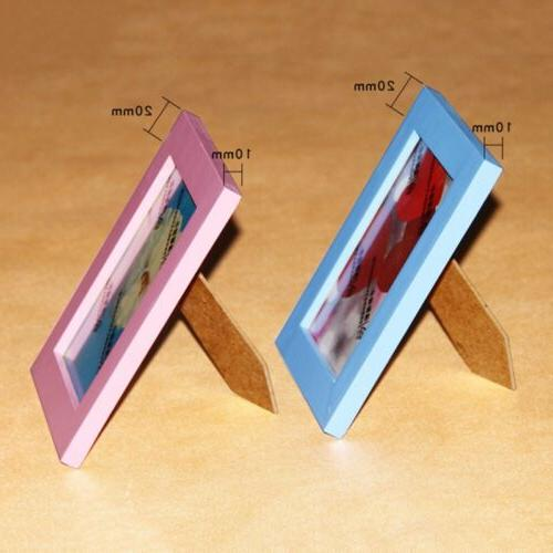 NEW Photo Frame Wooden Picture Holder Home