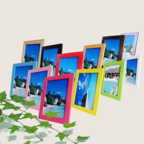 NEW Photo Frame Wooden Perfect Home