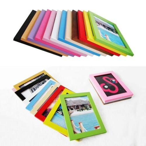 newly wooden photo frame rectangle stand picture