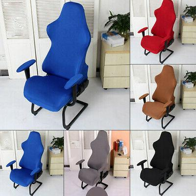 Decor Chair Cover Furniture Accessories Stretchy Back Office