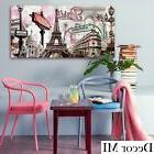 Paris Modern Canvas Home Wall Decor Art Painting Picture Eif