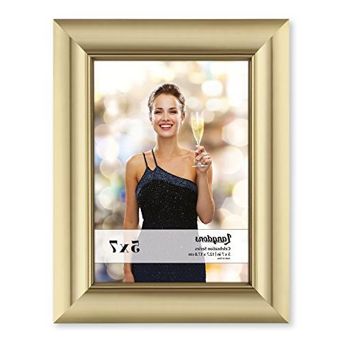 Langdons Set Photo Wall Hang or Table 7 Picture frames Gold Frames,