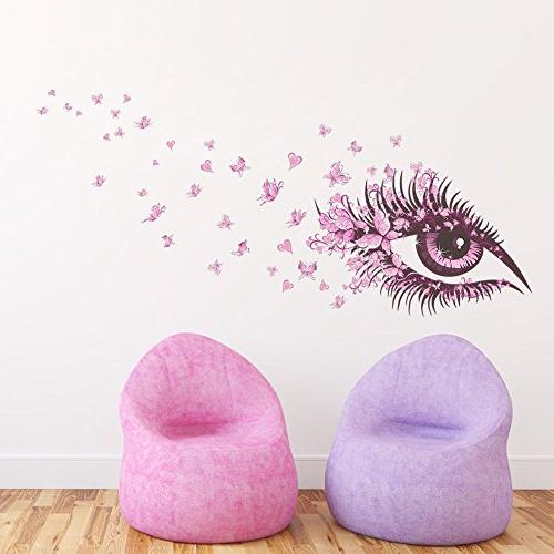 Amaonm Beautiful & Wall Decal Removable DIY Art Decor Bedroom Living Room Background