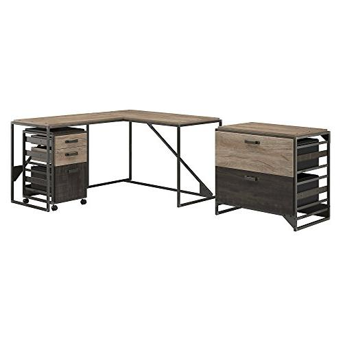 refinery l shaped industrial desk