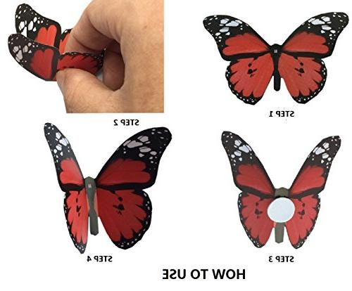 Amaonm® Pcs Diy 3d Butterfly Wall Decals Decorations Art Decor Decal Nursery Kids Bedroom Bathroom Room