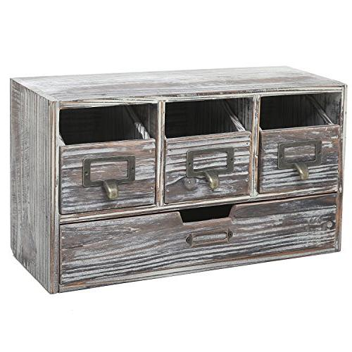 rustic brown torched wood finish