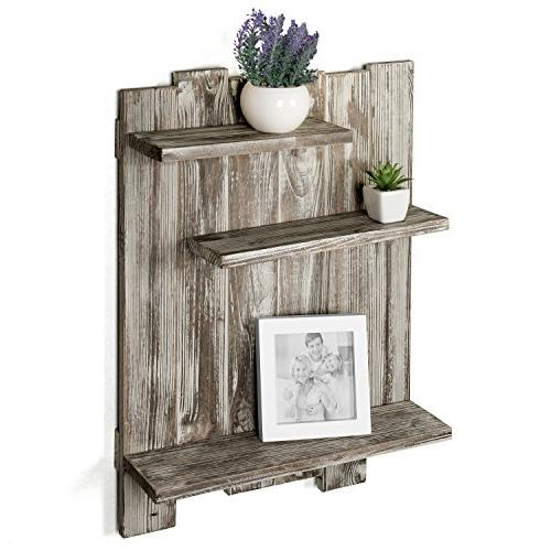 rustic torched wood pallet wall